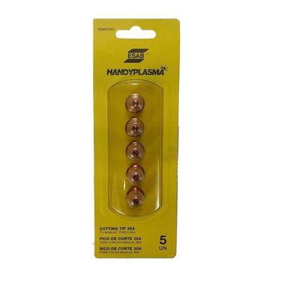 Bico-de-Corte-35A-080mm-Esab-Handyplasma-0740160-5Pecas