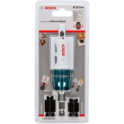Serra-Copo-Progressor-Starter-Kit-Bosch-25-mm